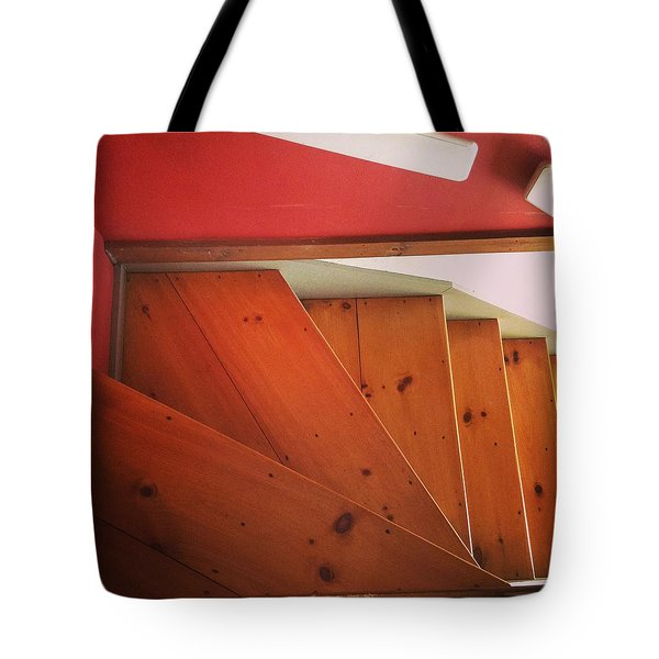 Abstract Stairs Tote Bag