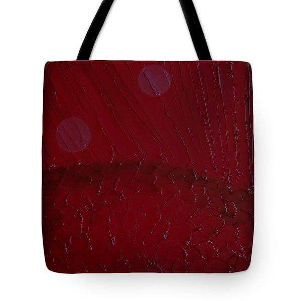 Abstract Strawberry Field II Tote Bag by Pristine Cartera Turkus