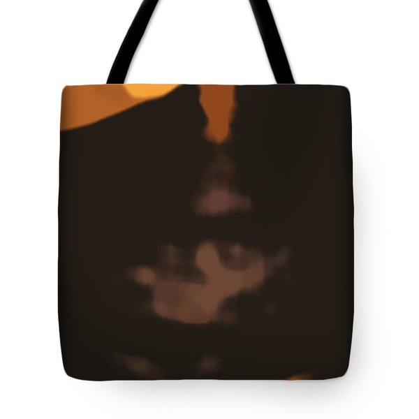 Abstract Sunset 33 Tote Bag