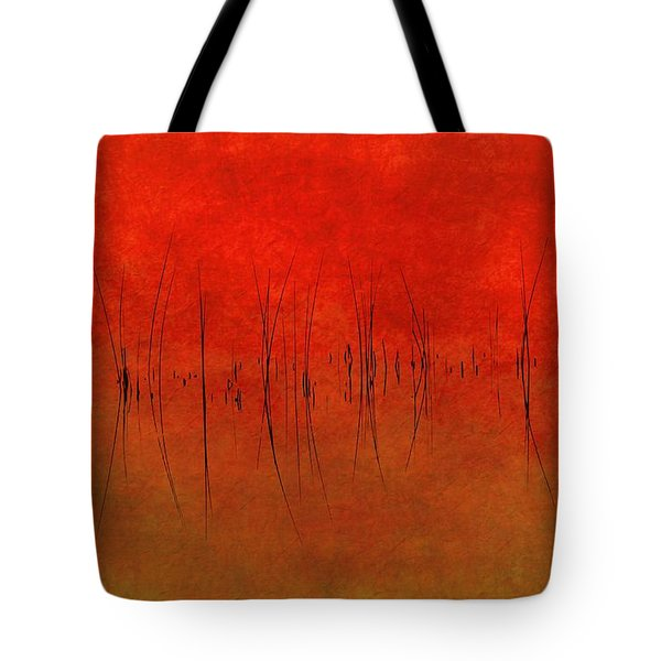 Abstract Sunset  Tote Bag by Andrea Kollo