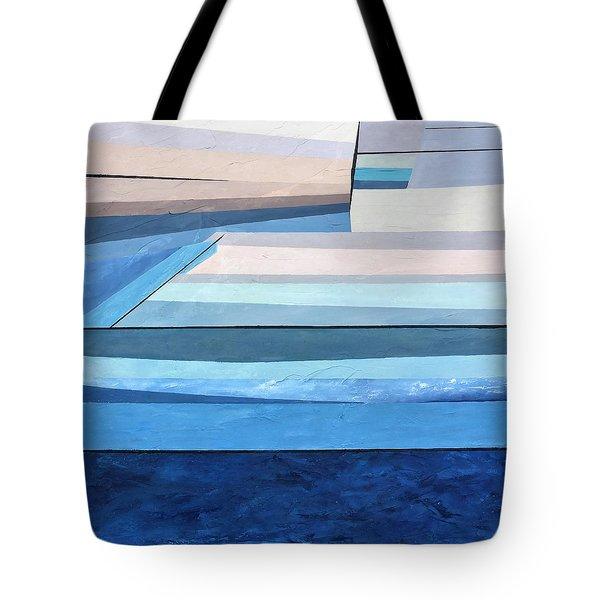 Abstract Swimming Pool Tote Bag