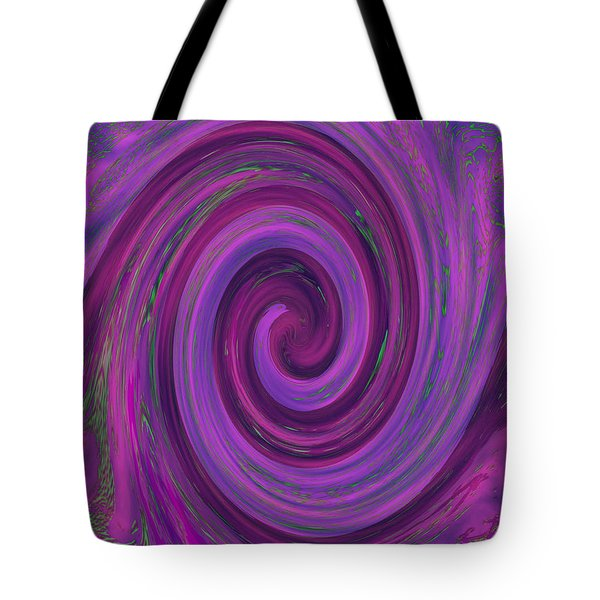 Swirl Abstract 3 Tote Bag