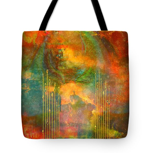 Abstract The World As It Is  Tote Bag