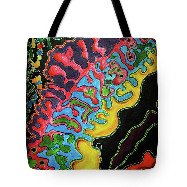 Abstract Thought Tote Bag
