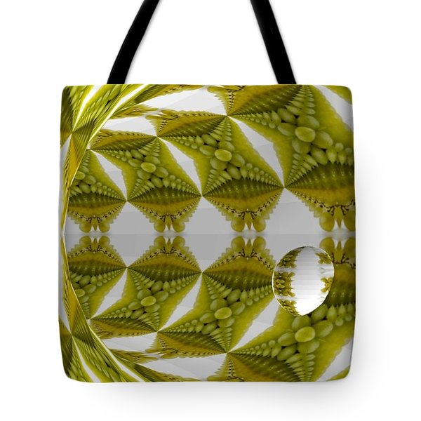 Abstract Tunnel Of Yellow Grapes  Tote Bag