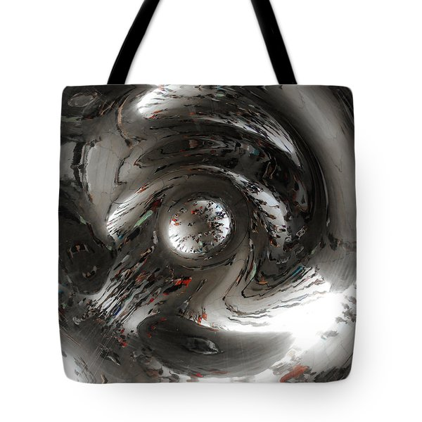 Abstract Underbelly Of The Bean, Chicago Il Tote Bag