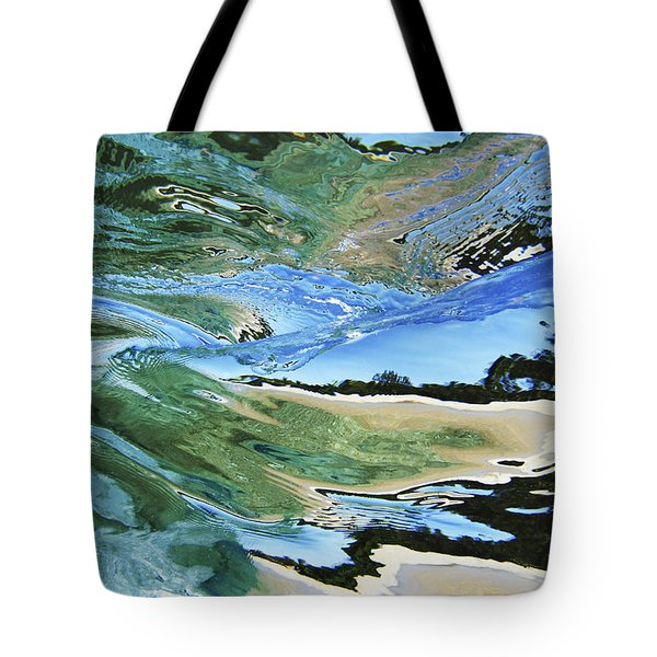 Abstract Underwater 4 Tote Bag by Vince Cavataio - Printscapes