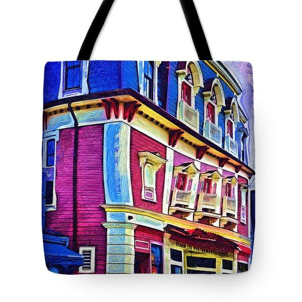 Abstract Urban Tote Bag