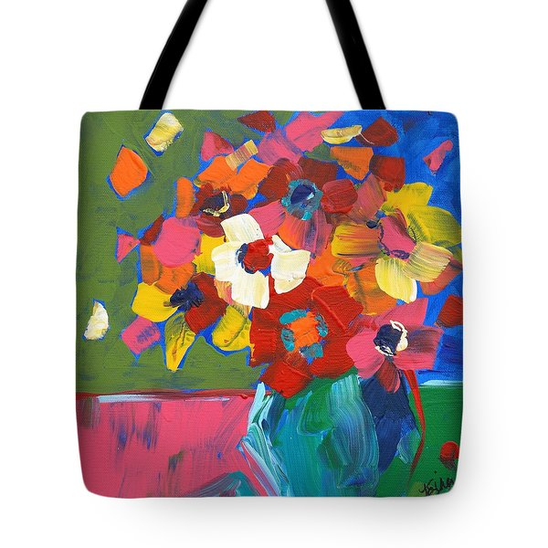 Abstract Vase Tote Bag