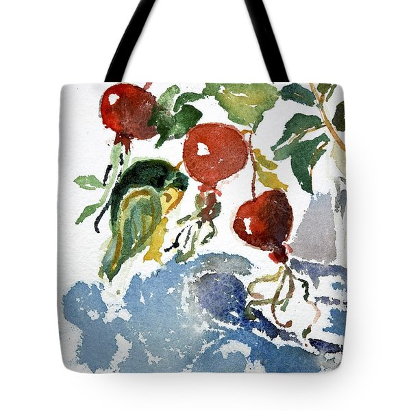 Abstract Vegetables 2 Tote Bag