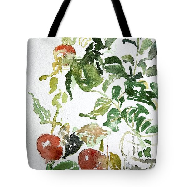 Abstract Vegetables Tote Bag