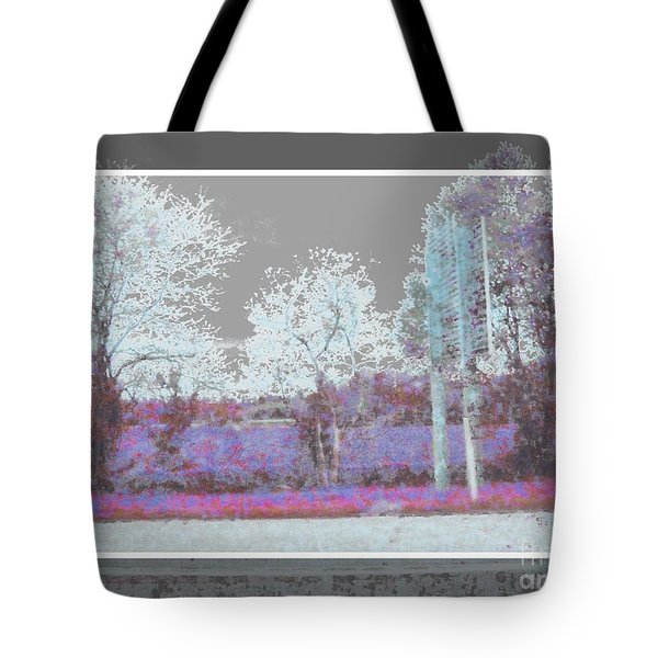 Abstract View 2 Tote Bag by Shirley Moravec