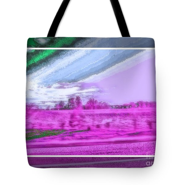Abstract View Tote Bag by Shirley Moravec