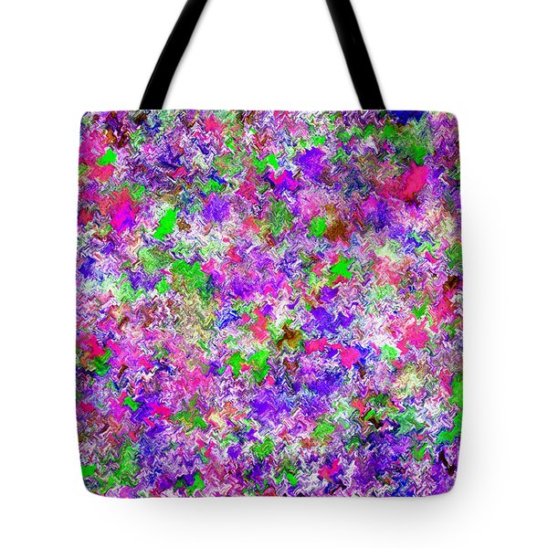 Tote Bag featuring the painting Abstract Watercolor A22416 by Mas Art Studio