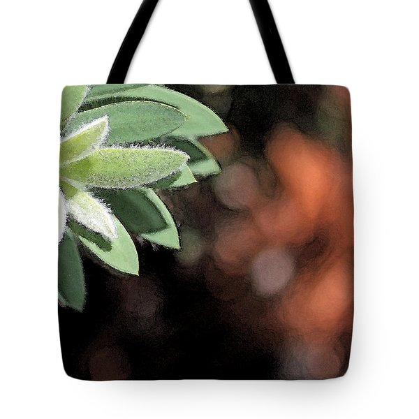 Tote Bag featuring the photograph Abstract Watercolor by Judy Vincent