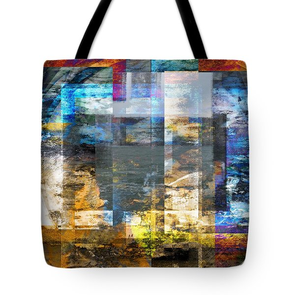 Tote Bag featuring the digital art Abstract Wave .. by Art Di