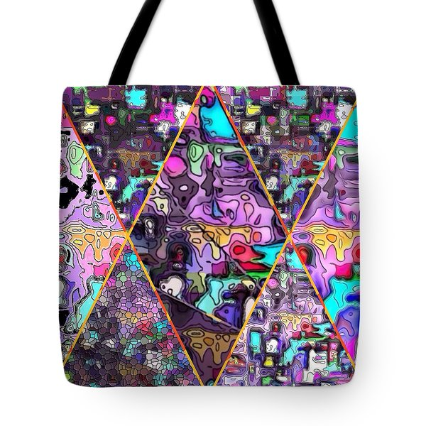 Abstract Windows Tote Bag