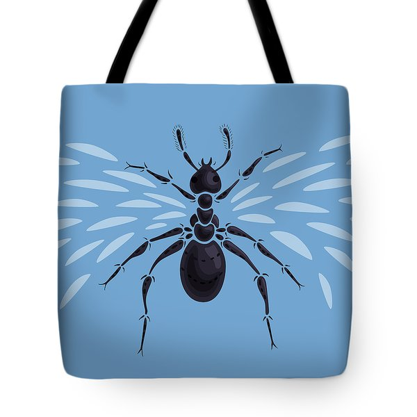 Abstract Winged Ant Tote Bag