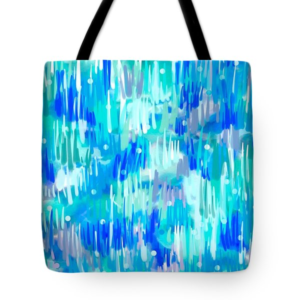 Abstract Winter Tote Bag