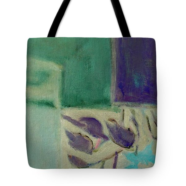Abstract With Detail Tote Bag by Betty Pieper