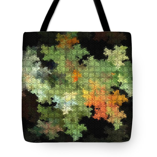 Abstract World Tote Bag by Deborah Benoit