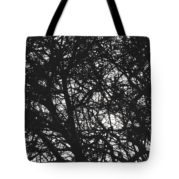 Tote Bag featuring the mixed media Abstract X by Chriss Pagani