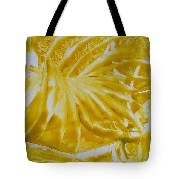 Abstract Yellow  Tote Bag