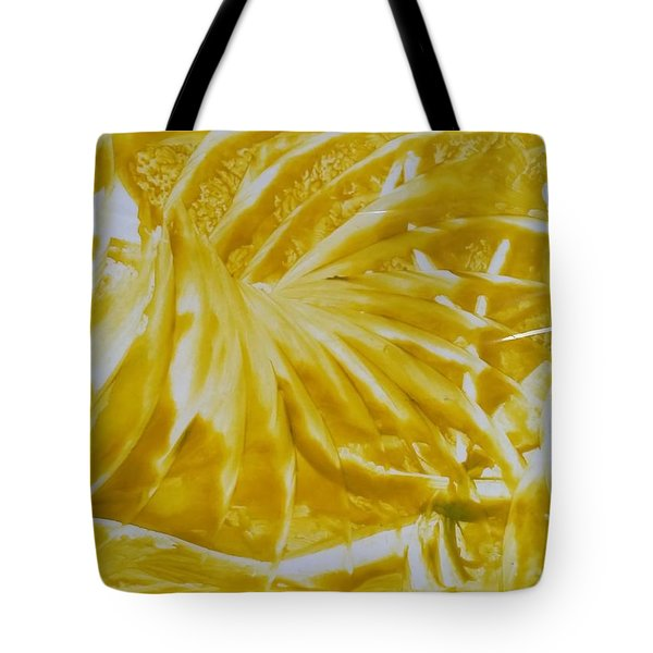 Abstract Yellow  Tote Bag