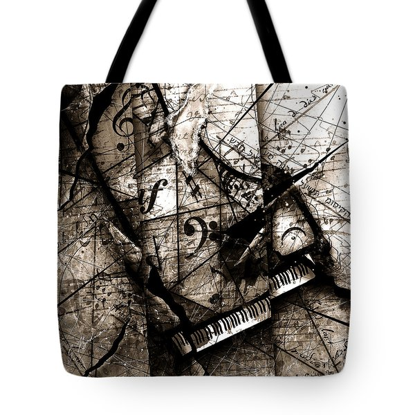 Abstracta 27 The Grand Illusion  Tote Bag by Gary Bodnar