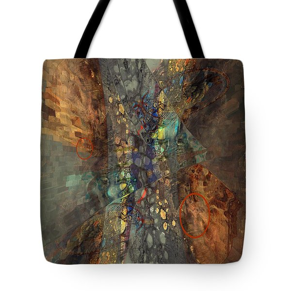 Abstracted Extrusion  Tote Bag
