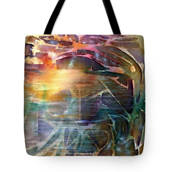 Cavern Travel Tote Bag by Allison Ashton
