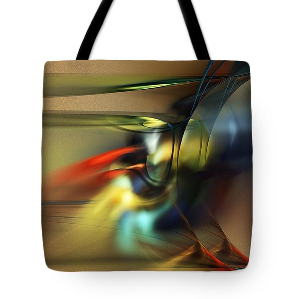 Abstraction 022023 Tote Bag