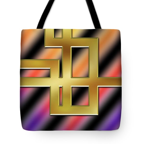 Abstraction 8 Tote Bag