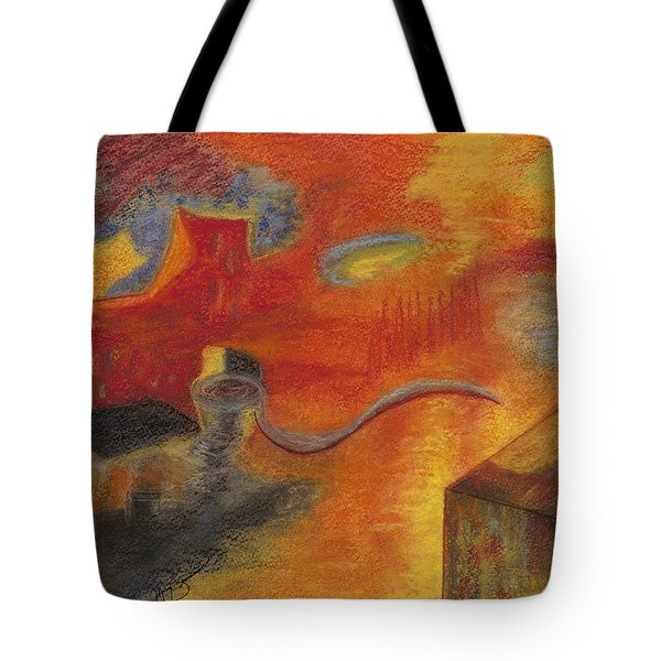 Abstraction Attractions Tote Bag