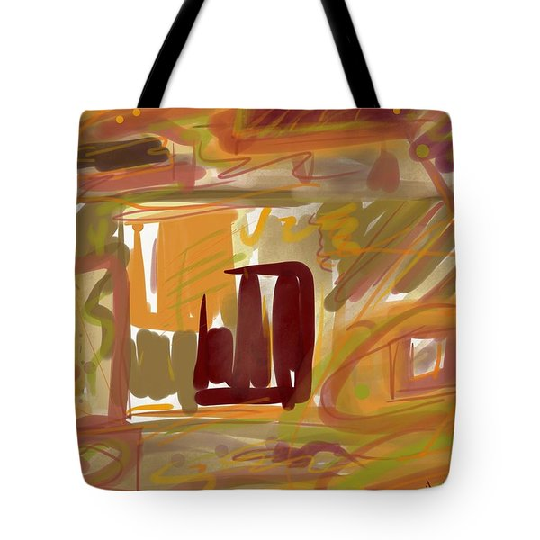 Abstraction Collect 1 Tote Bag