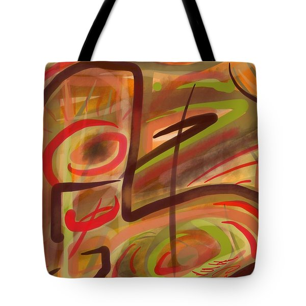 Abstraction Collect 2 Tote Bag