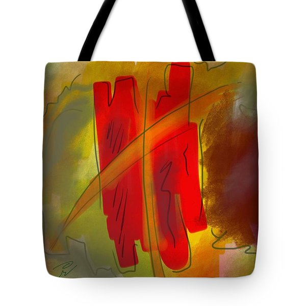 Abstraction Collect 3 Tote Bag