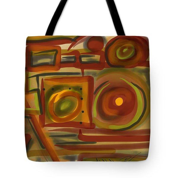 Abstraction Collect 4 Tote Bag