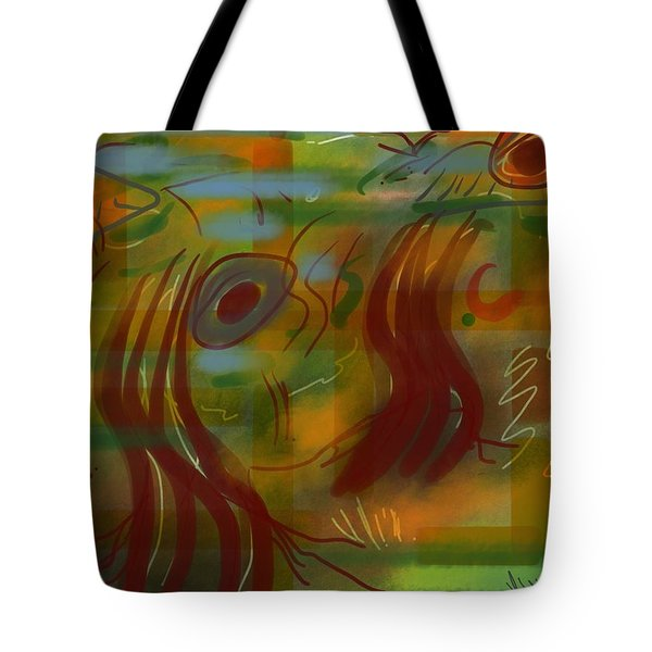 Abstraction Collect 5 Tote Bag
