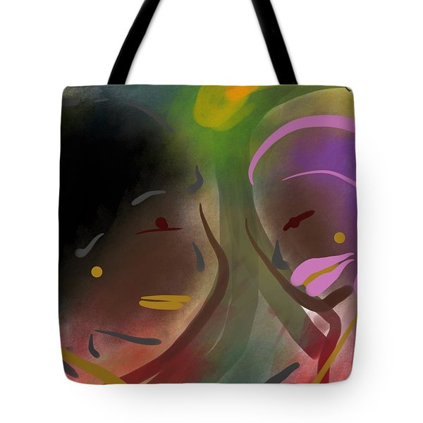 Fro Abstraction 1 Tote Bag
