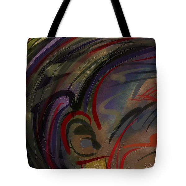 Fro Abstraction 2 Tote Bag