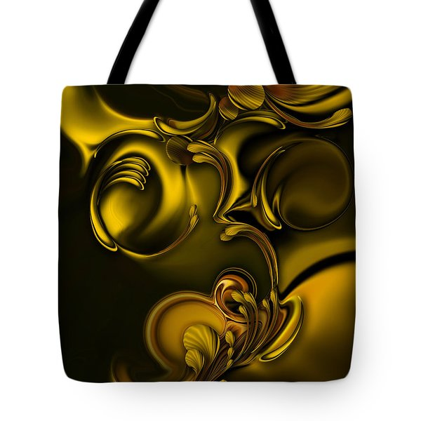 Abstraction With Meditation Tote Bag