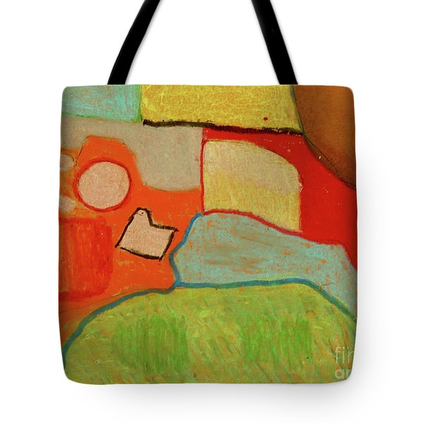 Abstraction123 Tote Bag by Paul McKey