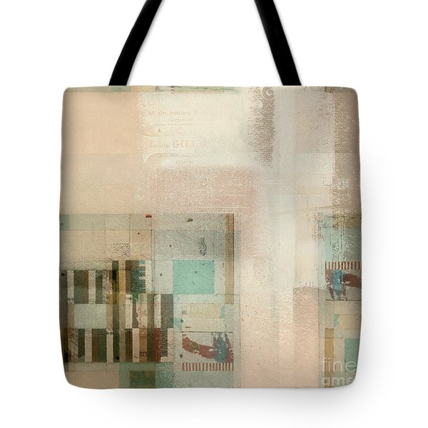 Tote Bag featuring the digital art Abstractitude - C01b by Variance Collections