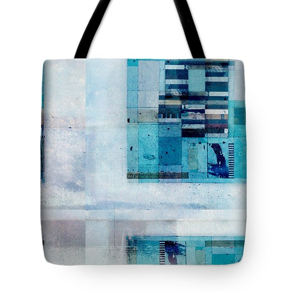 Tote Bag featuring the digital art Abstractitude - C02v by Variance Collections