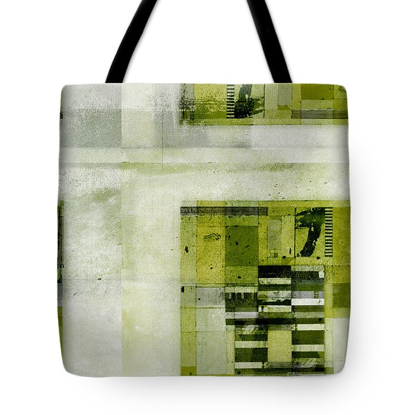 Tote Bag featuring the digital art Abstractitude - C4bv2 by Variance Collections