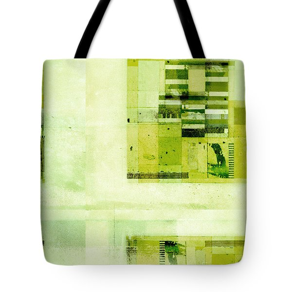 Tote Bag featuring the digital art Abstractitude - C4v by Variance Collections