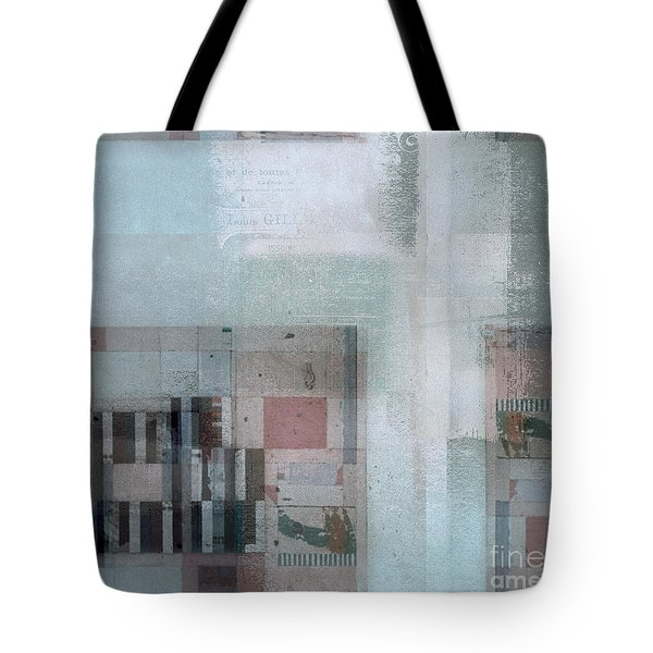 Tote Bag featuring the digital art Abstractitude - C7 by Variance Collections