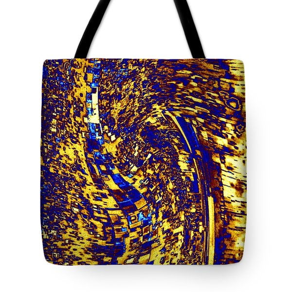 Tote Bag featuring the digital art Abstractmosphere 3 by Will Borden