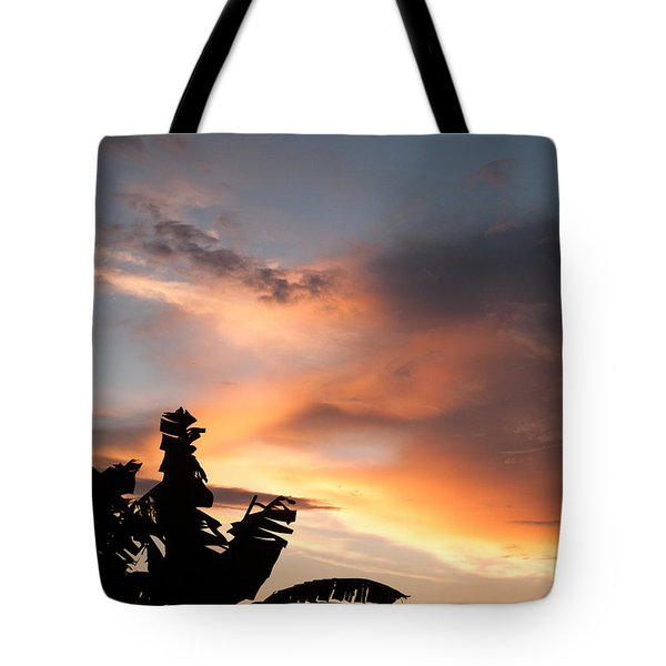 Abuja Sunset Tote Bag by Hakon Soreide